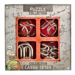 SET 4 IN 1 EUREKA - EXTREME METAL PUZZLE - ROSSO