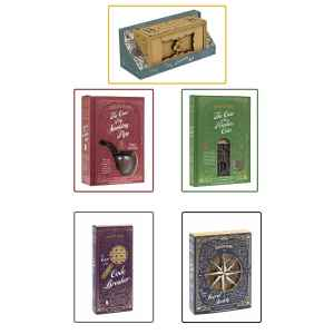 SHERLOCK HOLMES SET PUZZLES - SPEZIAL GROUP COLLECTION