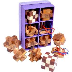 WOOD SET 6 IN 1 - RICE PAPER
