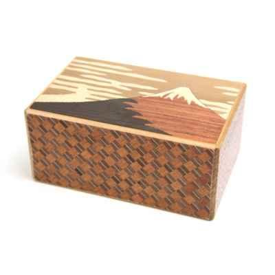 YOSEGI BOX FUJI AND TSUBAKI - 21 STEPS