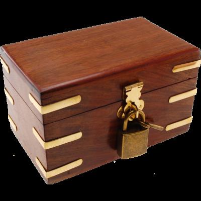 PICKLOCK BOX - SCRIGNO CON LUCCHETTO