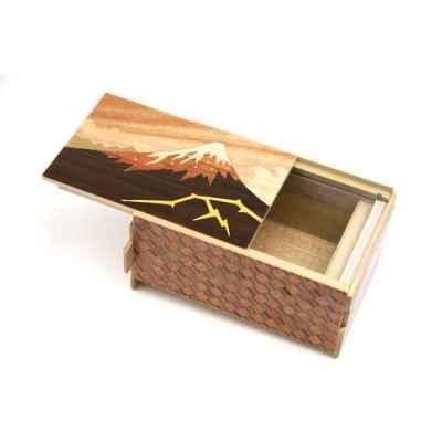 YOSEGI BOX KAMINARI-FUJI AND TSUBAKI - 21 STEPS