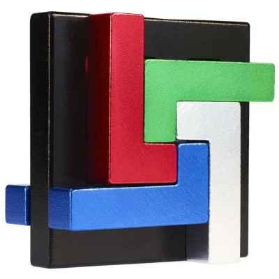 E3D Quad L Metal Puzzle