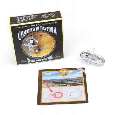 Daytona Circuit Puzzle + Box + Card