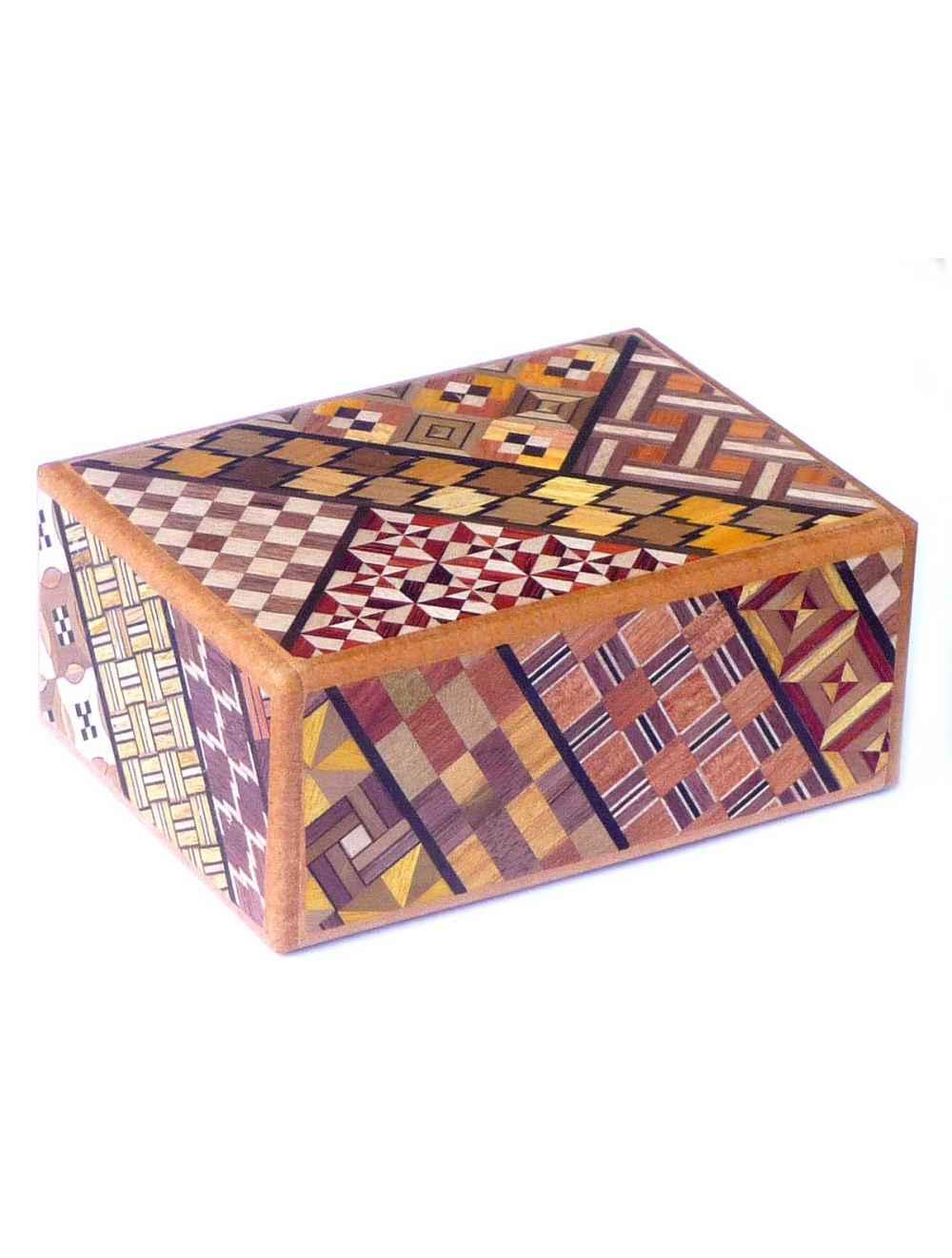 YOSEGI BOX - 4 STEPS