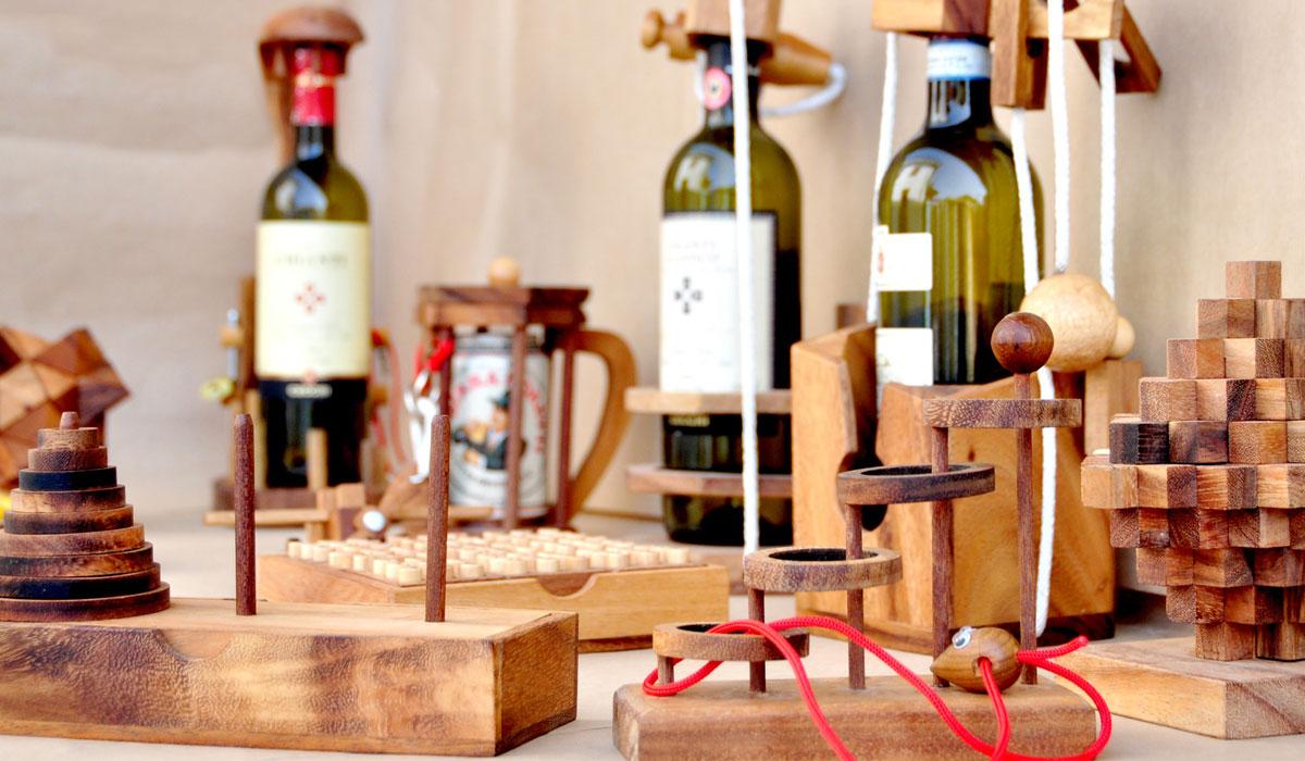 Non Per Alcolisti Serie di Rompicapo Leonardo Da Vinci