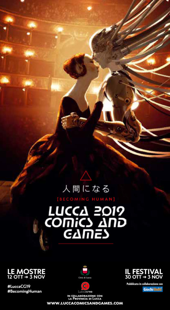 Locandina Fiera di Lucca 2019