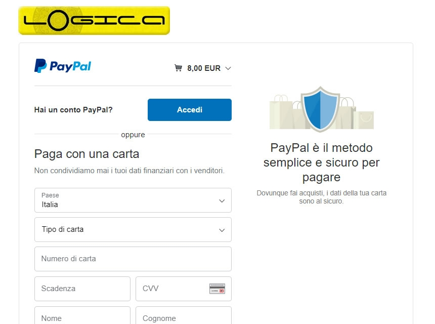 Step 4: Login To PayPal account