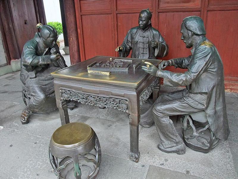 Players of Mahjong