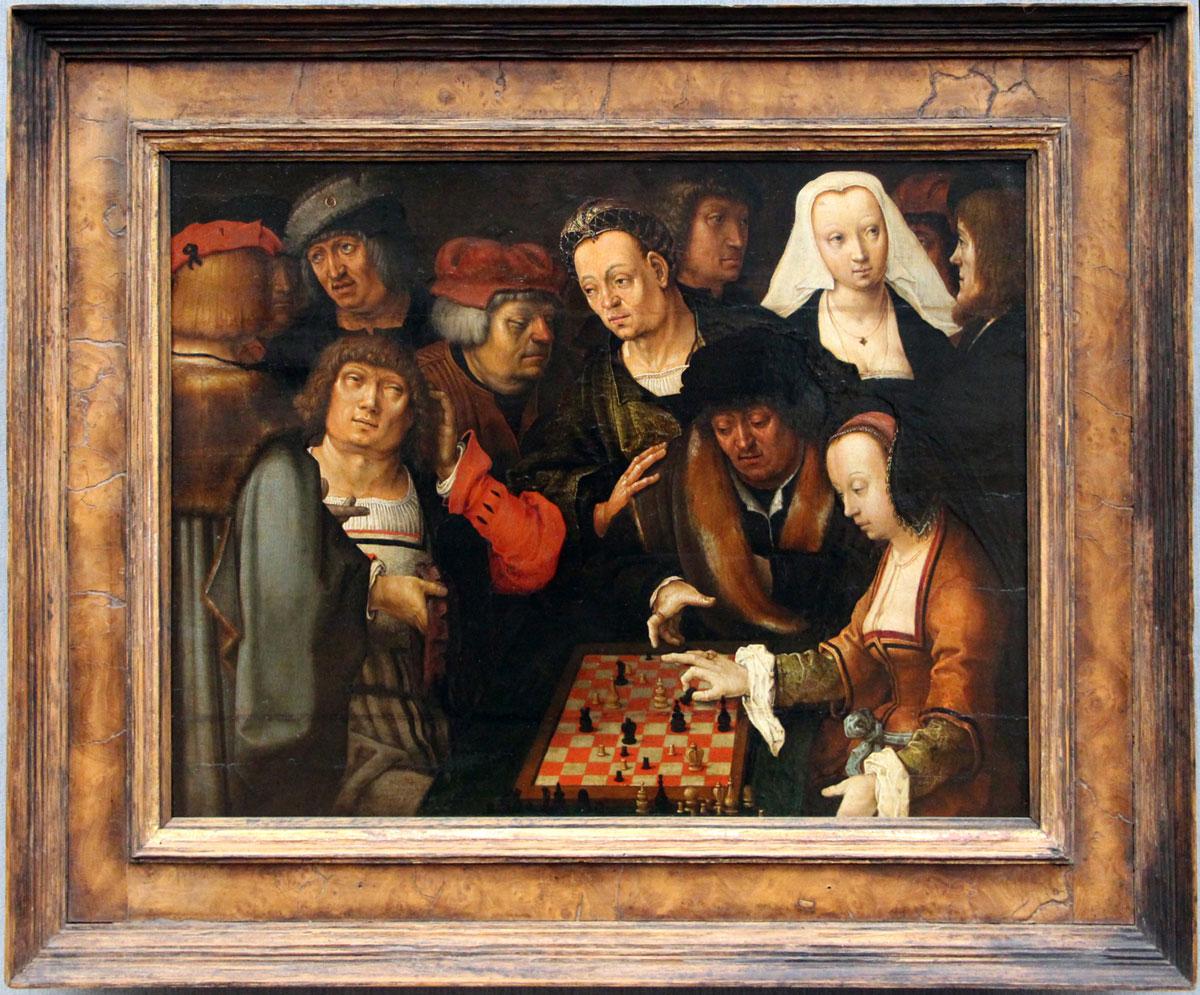 Lucas van Leyden - Die Schachspieler - ca. 1518 ca.